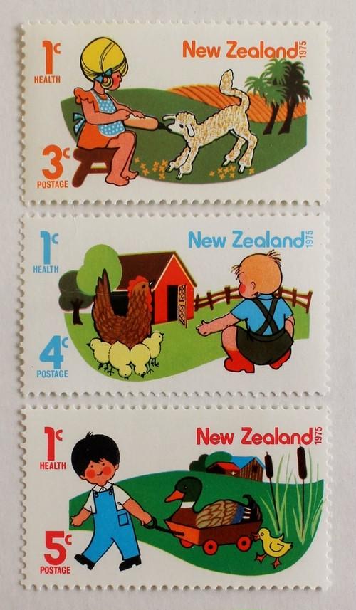 子どもの健康 / ニュージーランド 1975