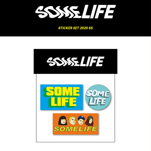 【Some Life】STICKER SET 2020 SS