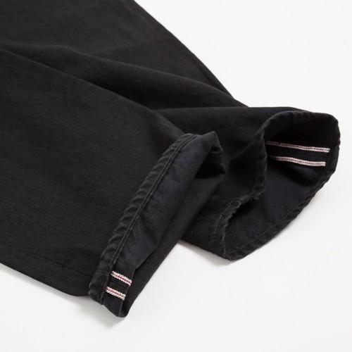 AF-7 66 slim model BLACK denim jeans