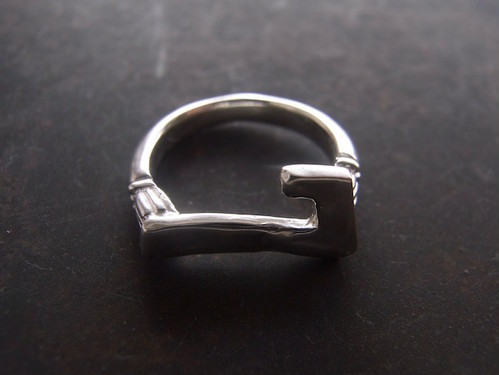 Numero Pinky Ring/数字7のピンキーリング/S
