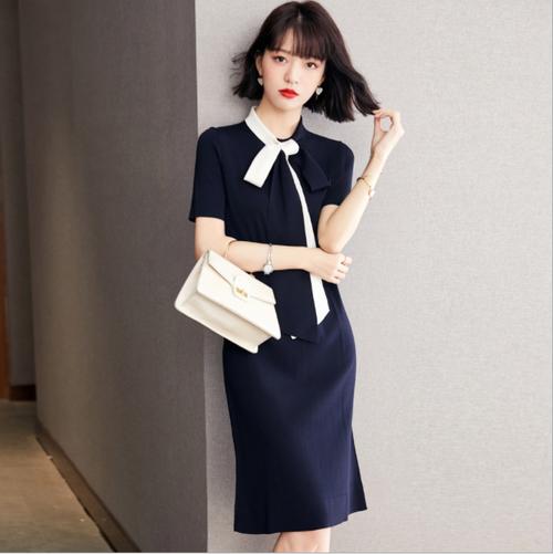 【dress】おしゃれ!ファッション着瘦せOL、通勤デートワンピース着心地よい