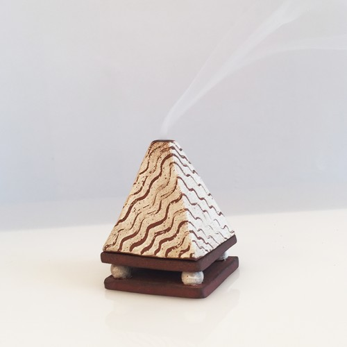 INCENSE POT #Pyramid