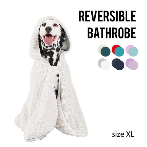 REVERSIBLE BATHROBE(XLサイズ) リバーシブルバスローブ