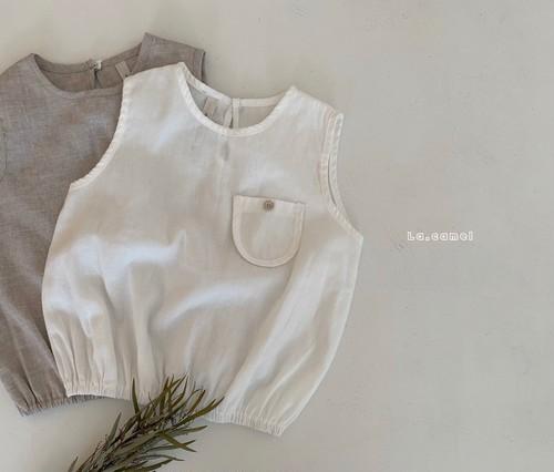 【予約販売】yuyu blouse〈la camel〉