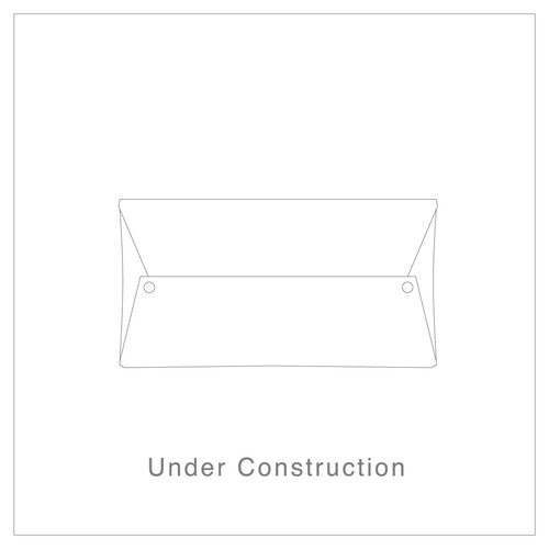 【LC02–CVWW】ラクリエ式ロングウォレット / コードバンホワイトワックス