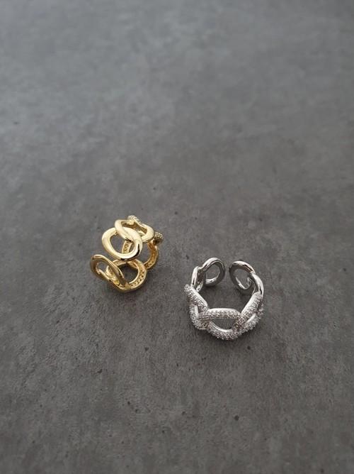 チェーンリング リング 指輪 韓国ファッション