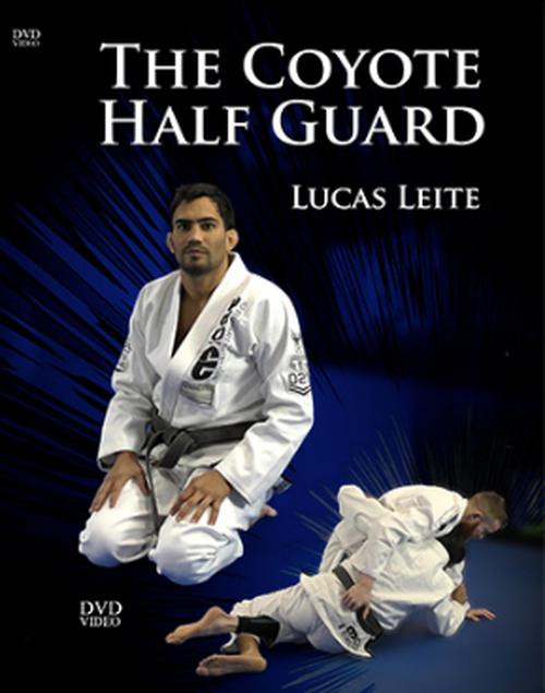ルーカス・レイチ  ザ・コヨーテハーフガード 4枚組DVDセット|ブラジリアン柔術教則DVD