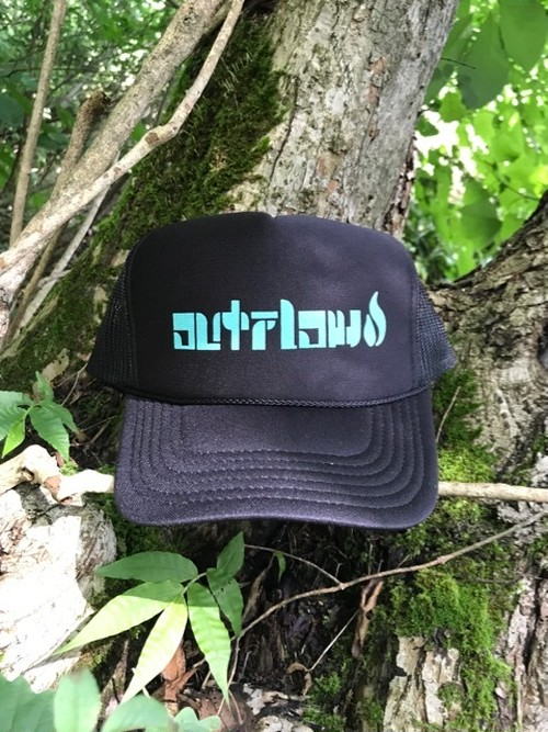 OUTFLOW / Original Logo  Mesh cap  /   Black