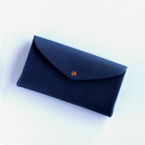 basic long wallet #navy/ ベーシックロングウォレット 長財布 #ネイビー