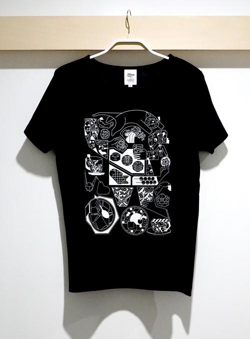 【久米繊維×TIS】「東京東」Tシャツ カラー:紺