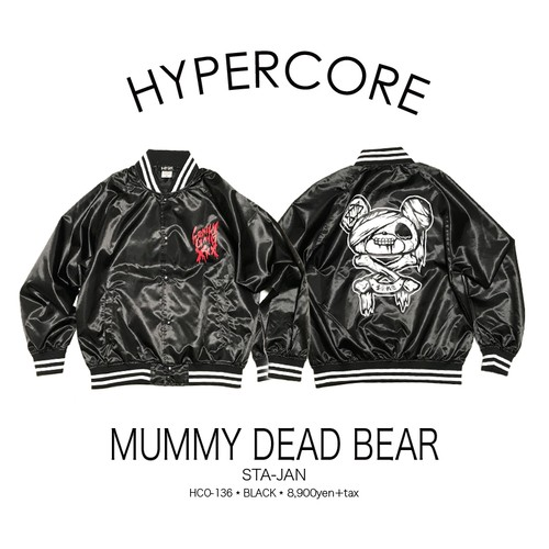 O-136 MUMMY DEAD BEARスタジャン