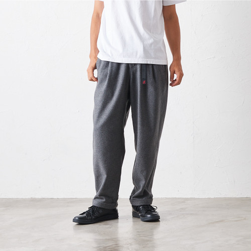 GRAMICCI グラミチ WOOL BLEND TUCK TAPERED PANTS