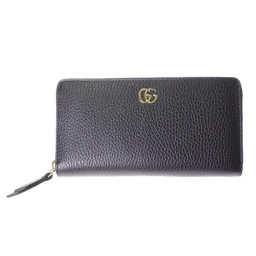 グッチ GUCCI 長財布 レディース 456117-CAO0G-1000 ブラック