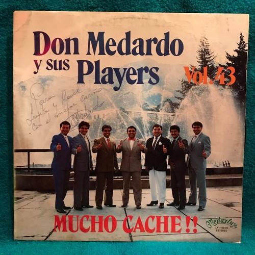 LP / Don Medardo Y Sus Players / Mucho Cache!!