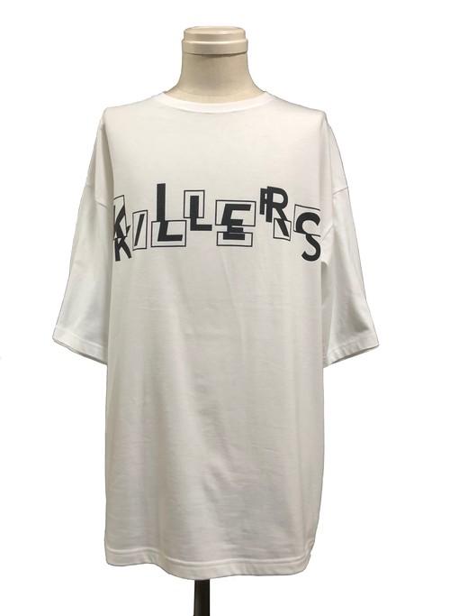OVERLAP KILLERS SHORT SLEEVES - WHITE -