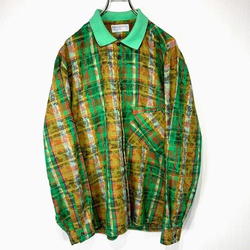 【USED】 Euro long-sleeved shirt