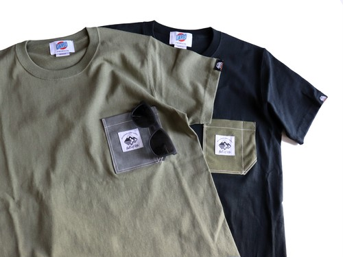 full of life x Dargo Original Heavyweight Pocket Tee