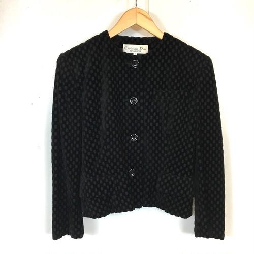 Christian Dior velour jacket