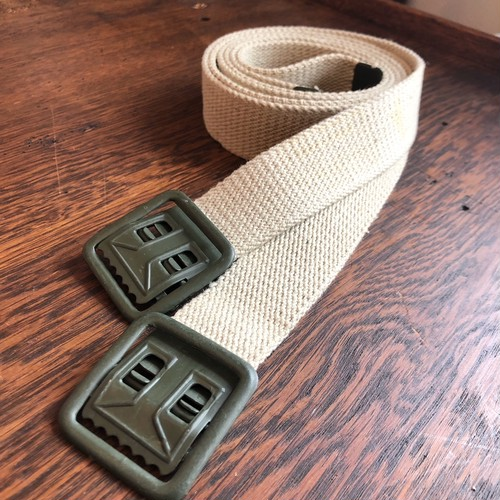 French Army Web Belt Dead Stock (Short)