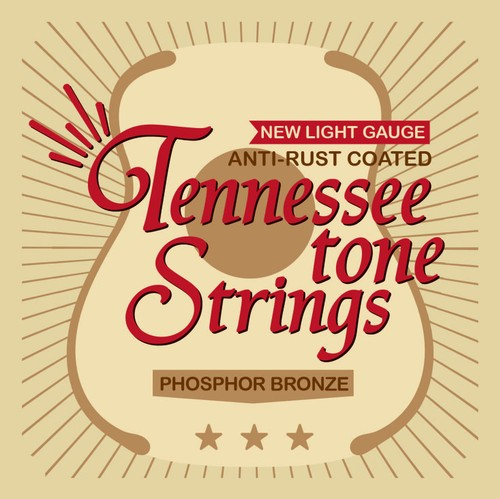 3set Tennessee Tone Strings  [New Light Gauge] 送料無料