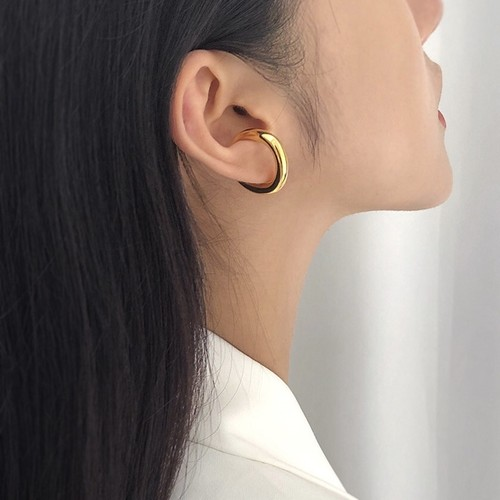 ring ear cuff gold