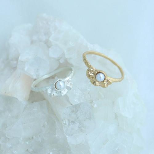 Ring / Frill pearl