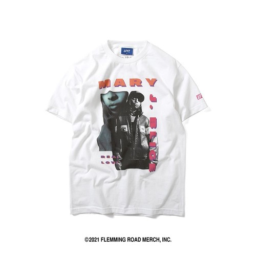 LFYT X MARY J.BLIGE REAL LOVE TEE / WHITE