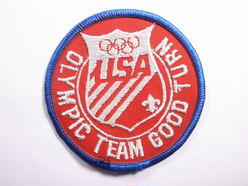 "PATCH""OLYMPIC TEAM GOOD TURN"""