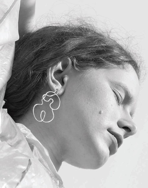 Knobbly x Laurie Franck Nude No. 2 Earring /LARGE
