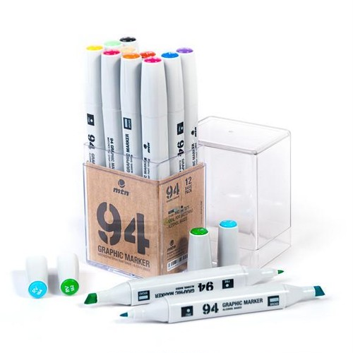MTN94 Graphic Marker Solid Colors Pack