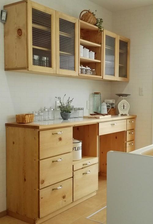 ナチュラルスタイル キッチンカウンター