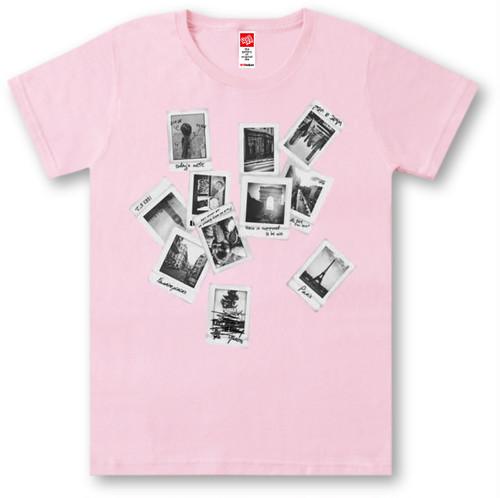 #399 Tシャツ PHOTOGRAPH/PNK