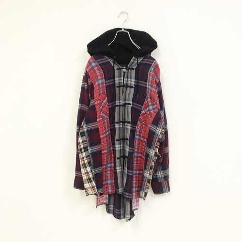 REMAKE HOOD CHECK SHIRT(CHINA)