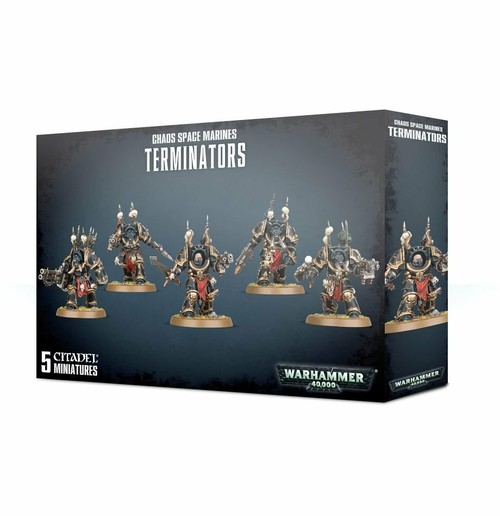 ケイオスターミネイター CHAOS SPACE MARINE TERMINATORS