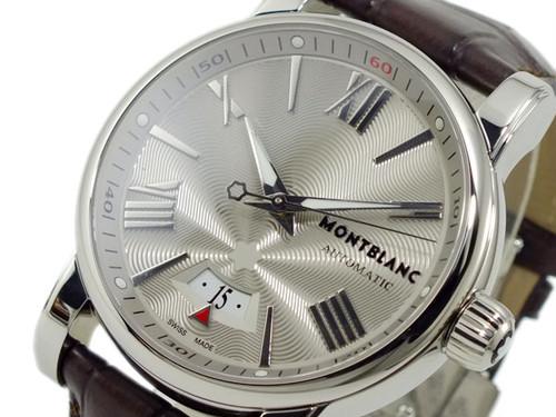 モンブラン MONTBLANC スター STAR 自動巻き 腕時計 102342 シルバー