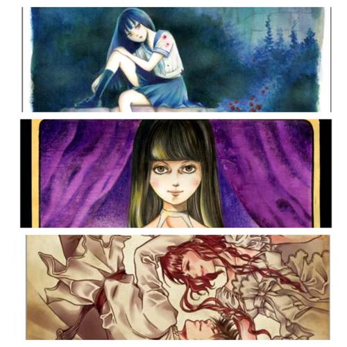 「幽幻少女異聞」ポストカード(2枚1組)