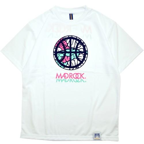 マッドロック - インテンションボール - Tシャツ / ドライタイプ / ホワイト / MADROCK - Intention Ball -TEE