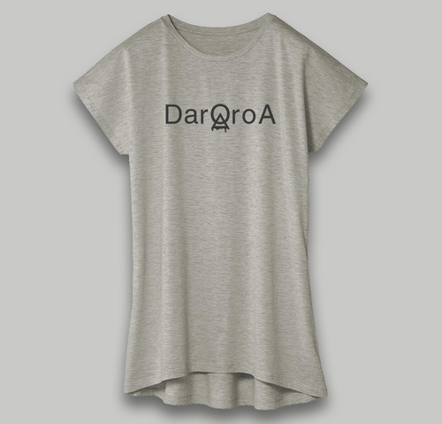 Dolman Logo-One Piece(Gray × DarQ Gray)
