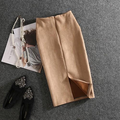 【ボトムス】話題沸騰中細見え効果通勤スカート16742559