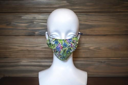 SEIYA Designオリジナル フラワーマスク 花柄B