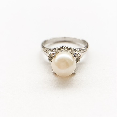 pearl ring #14[r-40]