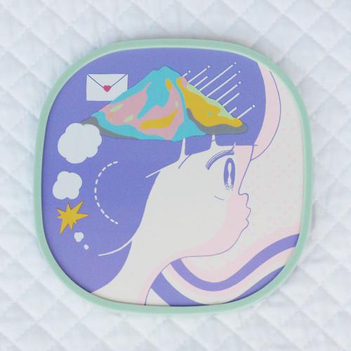 「山」【セル画風ポスター】