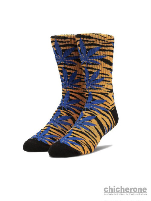 【HUF】ANIMAL STYLE SOCK TIGER