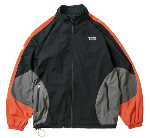 TIGHTBOOTH HOOLIGAN JKT BLACK ORANGE L タイトブース ジャケット