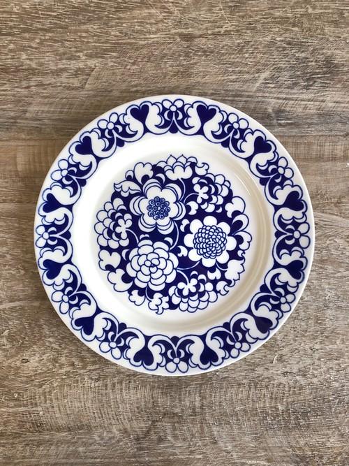 ARABIA アラビア/ Gardenia ガーデニア/ ブルー プレート17cm③