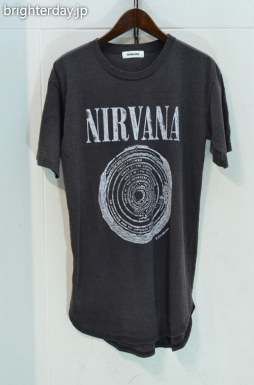 MONKEY TIME NIRVANA Tシャツ