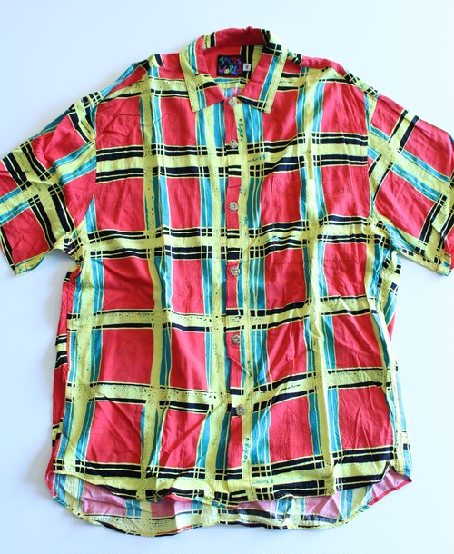 90's JAMS WORLD short sleeve shirts