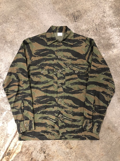 OLD Tiger Stripes Camo MIlitary Shirt
