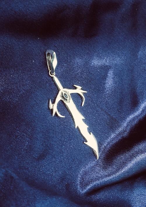【真・焔竜剣  ジークフレア】pendant
