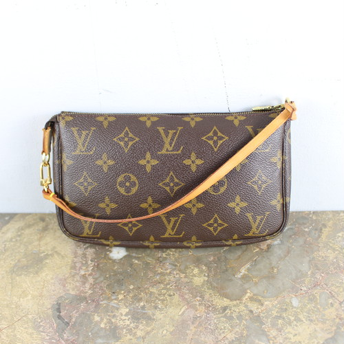 .LOUIS VUITTON M51980 AR0030 MONOGRAM PATTERNED MINI SHOULDER BAG PORCH MADE IN FRANCE/ルイヴィトンアクセソワールモノグラム柄ポーチ 2000000053561